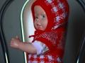 Чепчик и безрукавочка для новорожденного спицами