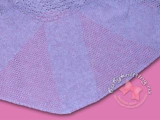 Платье для девочки, связанное крючком.