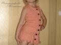 Кардиган - сарафан с косами для девочки 4-5 лет спицами.