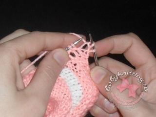 Двойное вязание 2