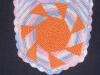 Нагрудник Солнышко, связанный крючком