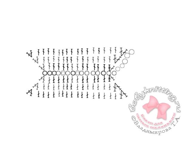 Ползунки на лямочках для новорожденного, связанные крючком.