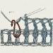 Дальше ряд столбиком с накидом, вводим крючок , как бы обхватывая столбик внизу (вяжем в столбики последнего ряда, того,что перед обвязкой)