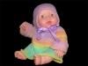 Распашонка и чепчик для новорожденного. Спицами.