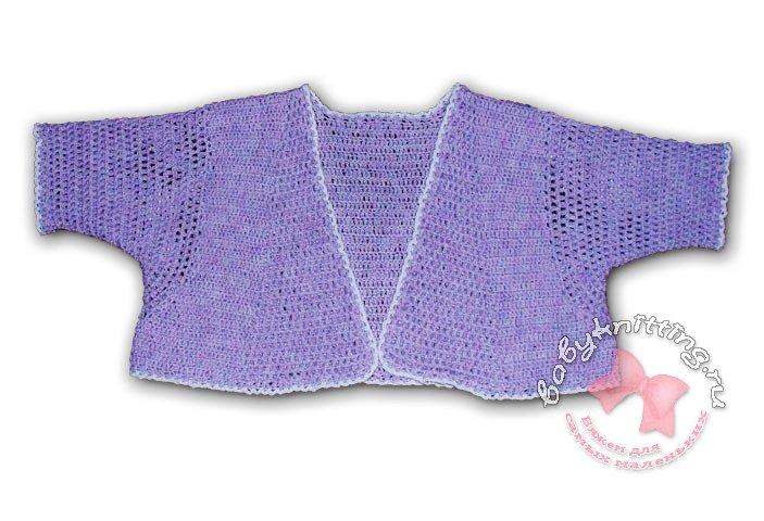 Крестильное платье для девочки вязание