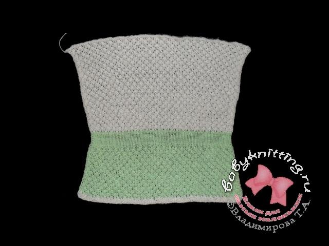 Вязание для девочек туника схемы.
