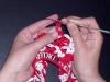 Сарафанчик Яркое лето для девочки, связанный крючком