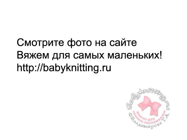 Ажурный сарафан для 2-х летней малышки спицами.